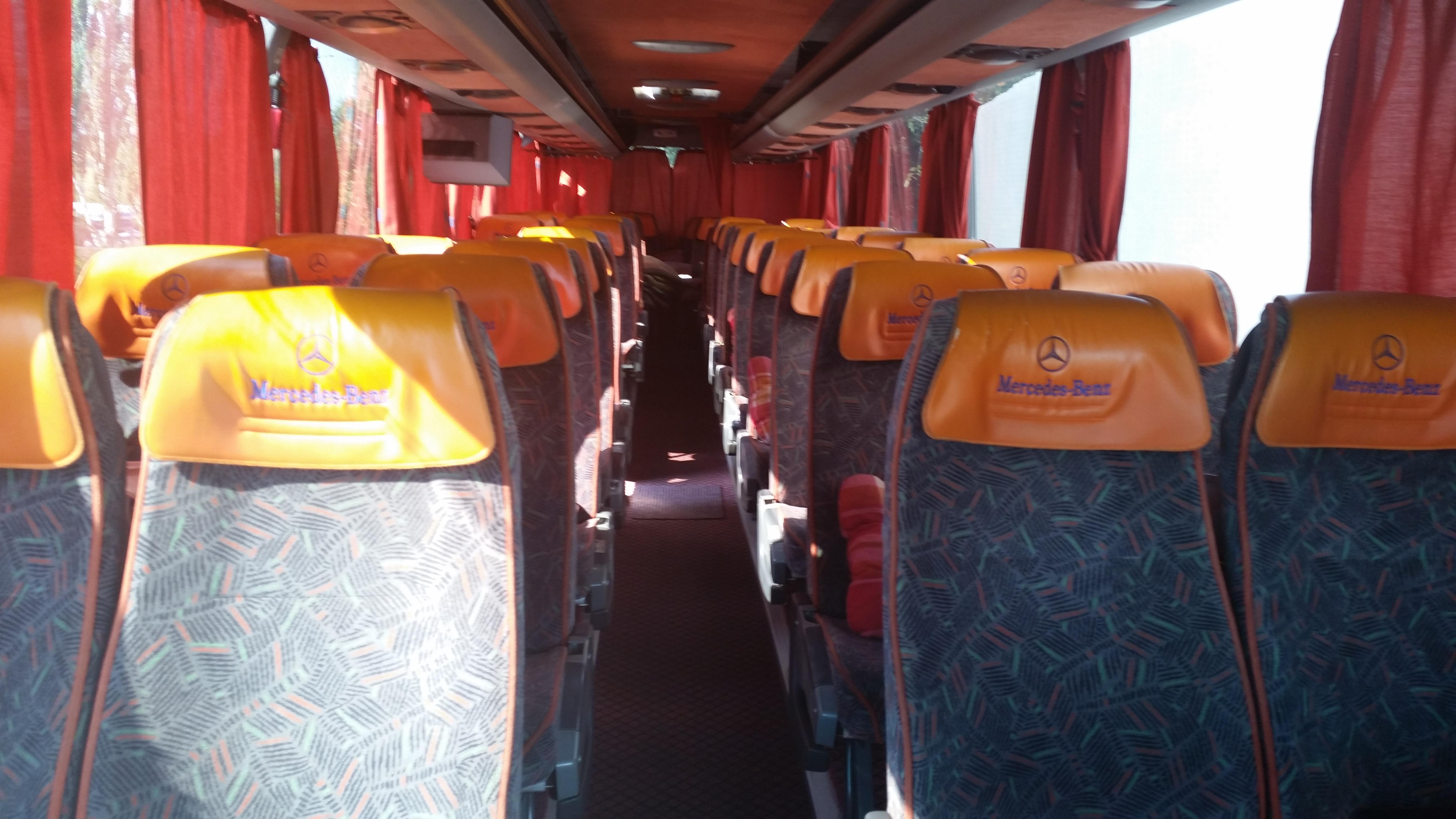 autocar interior